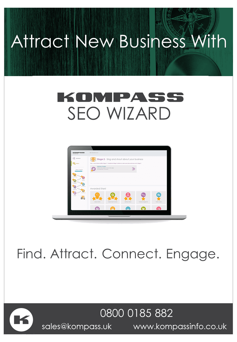 Attract New Business with Kompass SEO Wizard